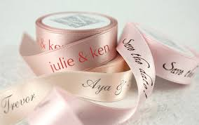 custom printed ribbon from midori bridal snippet ink snippet ink