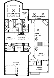 Home Plans With Elevators Baldwin Narrow Lot Home Plan 013d 0132 House Plans And More