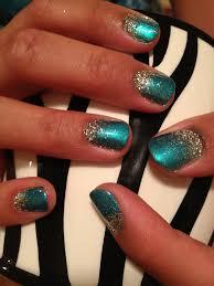 glitter faded nails polishpedia nail art nail guide shellac