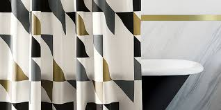 Neutral Shower Curtains Awesome Shower Curtains For Guys Curtain Gallery Images