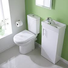 small bathroom suites space saving bathroom sets milano white minimalist floor standing cloakroom suite