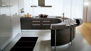 curved island kitchen designs modern curved kitchen island modern kitchen designs with