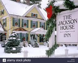 the jackson house inn woodstock vermont usa north america stock
