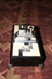impressive figural deco ronson touch vintage 1930s deco ronson octette touch tip table cigarette