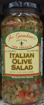 gambino s olive salad joe gambino s italian olive salad 16 oz pack of 3