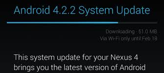 android system update how to an android device to find a system update the