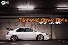 subaru impreza lifted subaru wrx gdb blobeyed street style 9tro