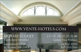 chambre de commerce cannes hotels fonds de commerce et murs