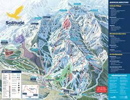 Rocky Mountain Map Solitude Ski Resort Trail Map Skicentral Com