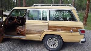 1981 jeep wagoneer limited review and start up youtube