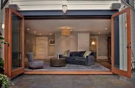 Wooden Bifold Patio Doors Adorable Patio Door Ideas For Your Beautiful Home Folding Patio
