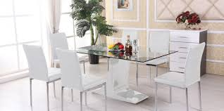 dining pretty cheap white dining table and 6 chairs