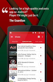 podcasts on android featured top 10 podcast apps for android androidheadlines