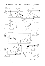 component capacitor start run induction motor patent us4675565
