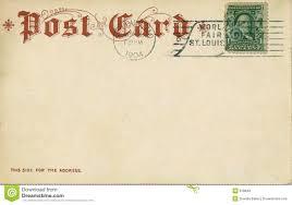 vintage postcard 1904 royalty free stock photos image 818848