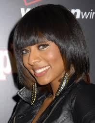 hairstyle magazine african american medium length blunt bob 2010