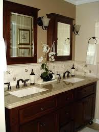 Update Bathroom Vanity Tile Bathroom Backsplash Updated Bathroom Tile With Paint Is