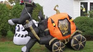 my airblown inflatable and halloween decorations display 2014
