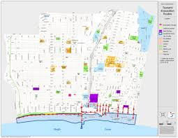 Santa Monica College Map Santa Monica Office Of Emergency Management Tsunami