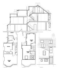 terraced house loft conversion floor plan victorian l shape mansard right loft conversions extensions