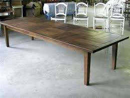 10 ft farmhouse table the 10 foot dining room table deerbridge house regarding decor 15