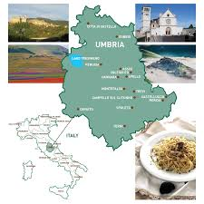 Norcia Italy Map A Brief Guide To Umbria Italy And It U0027s Regions