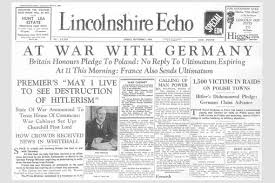 9 best images of newspaper clipping template world war 2