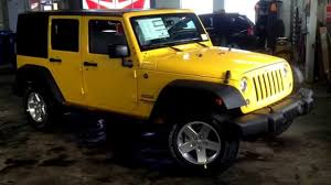 rose gold jeep 2015 jeep wrangler jaune baja a vendre youtube