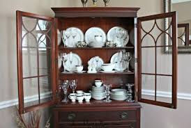 how to arrange dishes in china cabinet 4 amazing tips to decorate your china cabinet dining room