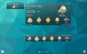 clock and weather widgets for android weather clock widget for android ad free android apps on