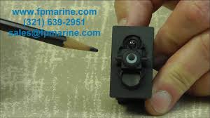 carling rocker switches introduction video www fpmarine com youtube