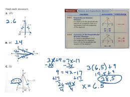 Angle Bisectors Worksheet Showme Perpendicular Bisector