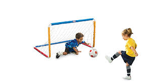 amazon com little tikes easy score soccer set primary colors