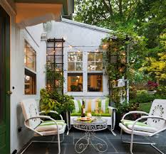 cute patio ideas patio traditional with white stucco siding wood