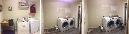 the evolution of a laundry room to butler u0027s wine pantry u2013 red