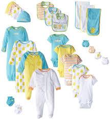 newborn baby needs buy gerber unisex baby newborn duck 9 feeding essential gift