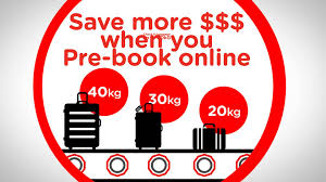 united check in luggage prebook your baggage airasia com youtube