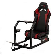Racing Simulator Chair Gtr Racing Simulator Gta S S105lblwht Gta Model Silver