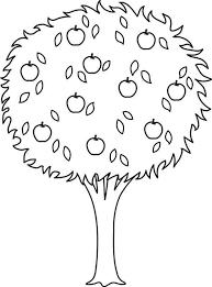 Pommier 27 Nature  Coloriages à imprimer