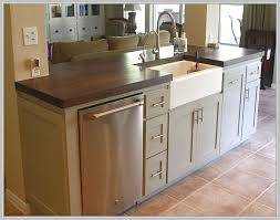 kitchen island sink dishwasher kitchen island with sink and dishwasher and seating best of best