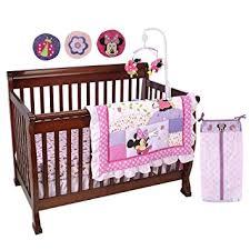Minnie Crib Bedding Set Disney Minnie Mouse 8 Crib Bedding Set Minnie