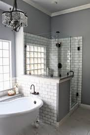 Glass Block Designs For Bathrooms by Best 25 Glass Blocks Wall Ideas On Pinterest Glass Block Shower
