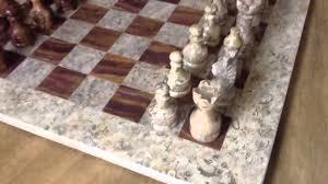 Chess Table Amazon 16x16 Marble Chess Set Youtube