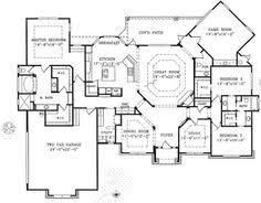 single story open floor plans photo gallery of the open floor