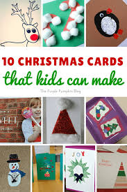 christmas cards that kids can make