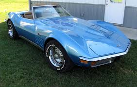bryar blue 1972 corvette paint cross reference