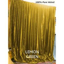 Long Curtains 120 Buy Lemon Gold Velvet Curtains And Drapes Made From Vintage Cotton