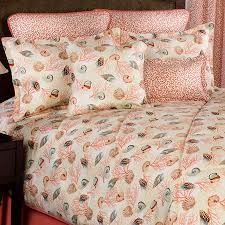 Seashell Queen Comforter Set Caicos Seashell Bedding