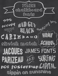 free chalkboard fonts halstead