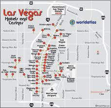 las vegas blvd map map of las vegas hotels and casinos the and downtown hotels